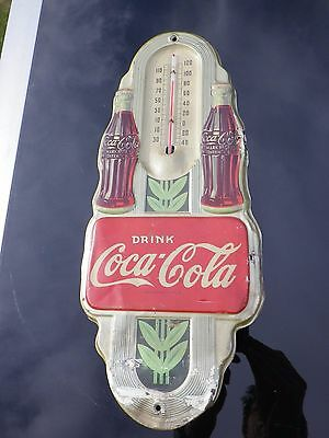 coca cola thermometer usa 40er jahre art deco blech schild reklame eur 181 00 picclick de. Black Bedroom Furniture Sets. Home Design Ideas