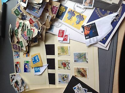 1.51 KG  GB Charity Kiloware Stamps, All periods  including better.Seen @@@@@@@@