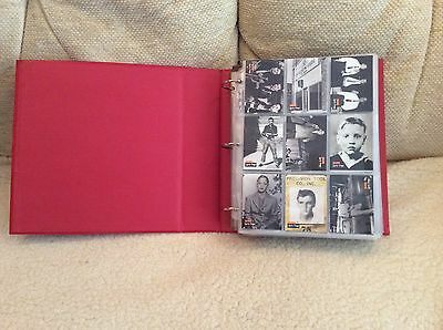 660 Elvis Presley River Group 1992 Trading Cards in folder, Series 1,2 and 3
