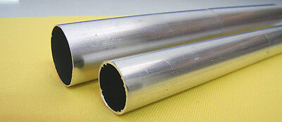 Aluminium Round Tube Pipe choose outside diameters 8 mm - 80 mm Free cut service