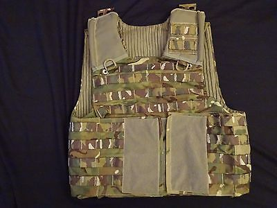 British Army OSPREY MK4 MTP Body Armour Cover / Molle Vest 180/104 - Grade 2