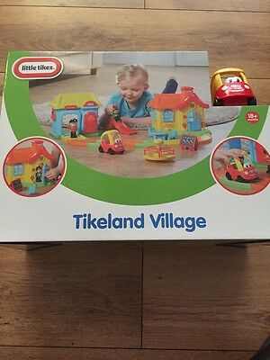 Little Tikes Tikeland Village Play Set New In Box