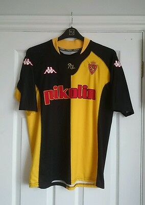 Real Zaragoza away football shirt, 2001/03, KAPPA, size XL