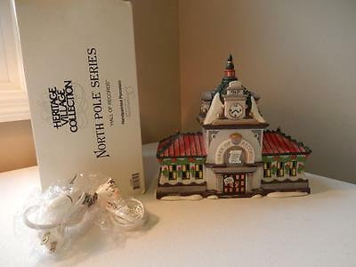 Department 56 (Excellent) North Pole HALL OF RECORDS #56392