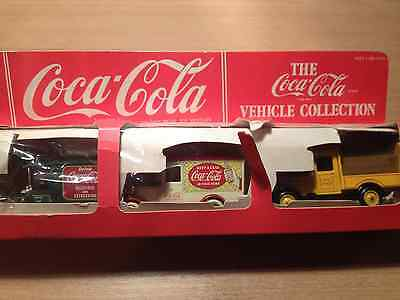 Lledo Promotional  Diecast Model Set Coca-Cola Vehicle Collection
