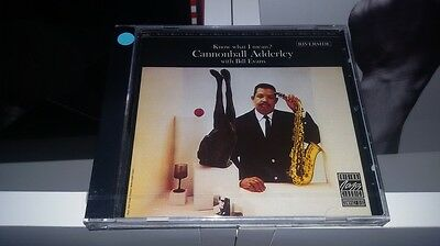 CANNONBALL ADDERLEY & BILL EVANS: KNOW WHAT I MEAN? (CD) Sigillato