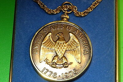 Bronze Medallion Us 1976 Bicentennial By Minted Coin Co.solid Jewelers Company