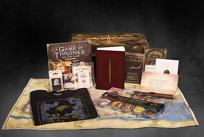 A Game Of Thrones George R. R. Martin Ultra Limited Edition Box Signed Rare