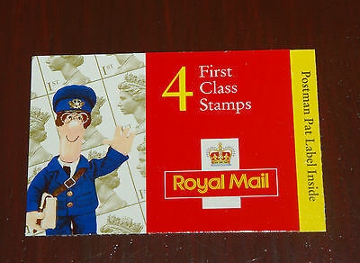 2000 Postman Pat Barcode Booklet 4 x 1st class stamps - Mint