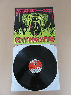 SLAUGHTER AND THE DOGS Do It Dog Style DECCA LP RARE UK ORIGINAL 1ST PRESSING