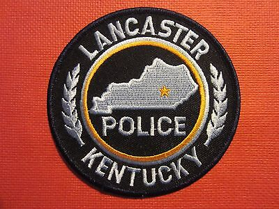 Collectible Kentucky Police Patch Lancaster New