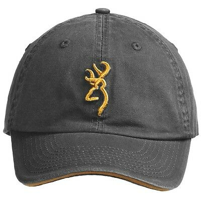 BROWNING Shooting Cap Charcoal Clay Pigeon Shooting Clays Hunting Decoying Hat