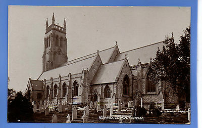 Old Vintage Rp Postcard St Mary Church Torquay Devon