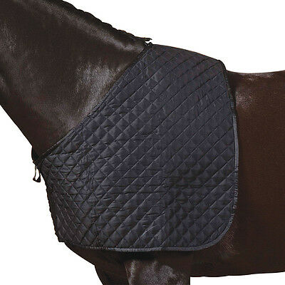Roma Deluxe Quilted Shoulder Guard - Black, Small