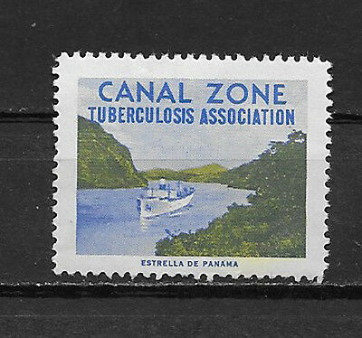 Canal Zone , Us , 1959/61 , Tb Christmas Seal  , Perf , Mnh