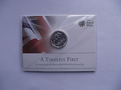 £20 Silver Coin: A Timeless First