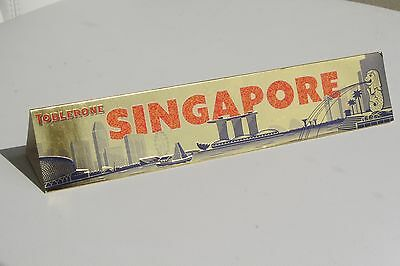 Toblerone SINGAPORE Singapur Limited Special Edition nur VERPACKUNG / Cover only