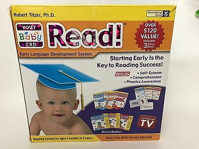 Your Baby Can Read /Robert Titzer Early Language Development *Fast Ship*