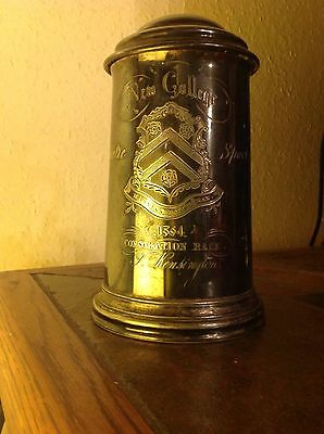 1864 Pewter Athletic Sports Tankard New College Oxford
