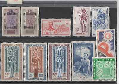 Niger - not used - 1921 - 1941 - 1964 - 1942 - 1962