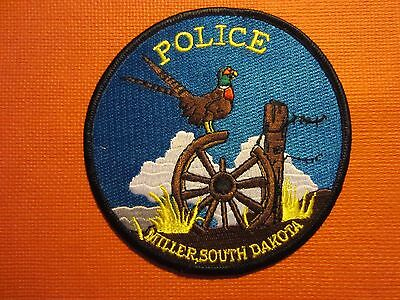 Collectible South Dakota Police Patch Miller New