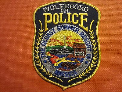 Collectible New Hampshire Police Patch Wolfeboro New