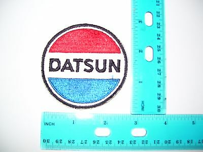 embroidered patch datsun
