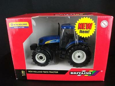 Britains 1/32nd scale NEW HOLLAND T6070 Tractor  new and boxed, code nos 42325