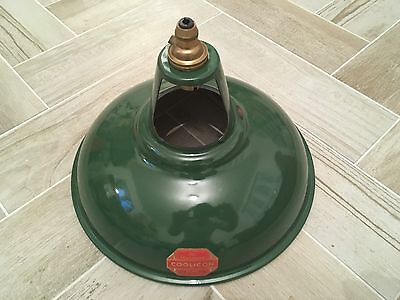 Vintage Industrial Enamel Factory Lamp Shade Pendant Light Coolicon Benjamin Gec