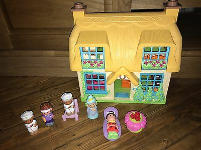 ELC Happyland Rose cottage Play House with Sounds With Figures And Accessories