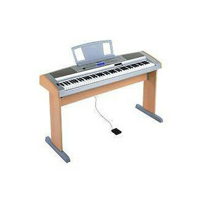 Yamaha dgx 505 keyboard with pedal, legs and power supply