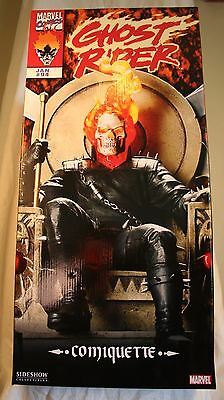 Sideshow Collectibles #200009 Ghost Rider On Throne