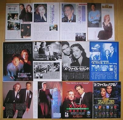 The X-Files * Akte X - Clippings / Poster - Japan