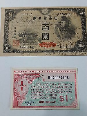 WW 2 Hideki Tojo and 23 Class A Japanese War Criminals Authentic Signatures