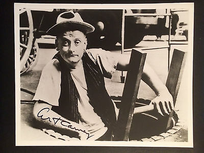 Art Carney Autographed Signed The Honeymooners 8x10 Photo.