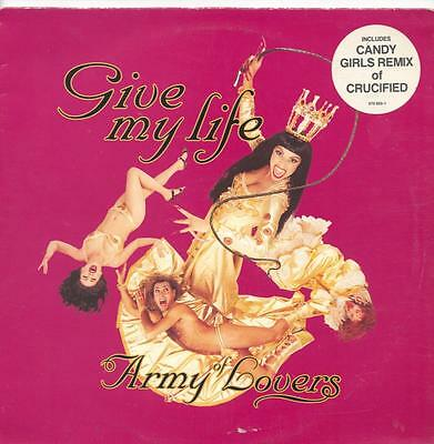 "Army Of Lovers - Give My Life - 12"" Vinyl Single"