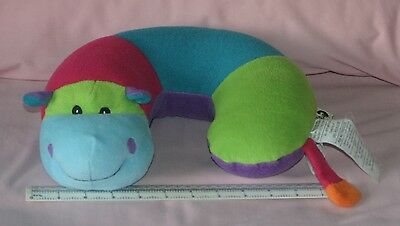 Critter Piller Bright Hippo  used  NOT under 3 years or in crib