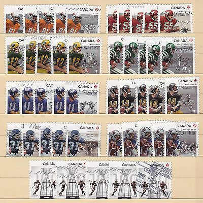 100th Grey Cup Game X 5 Sets