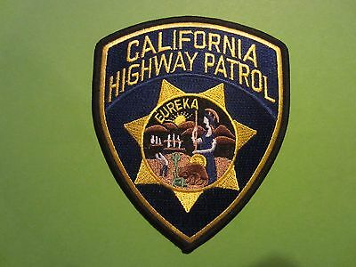 Collectible California Highway Patrol Patch New