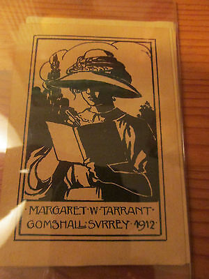 10 x Enchanting Pictorial Ex Libris by and of Margaret W Tarrant