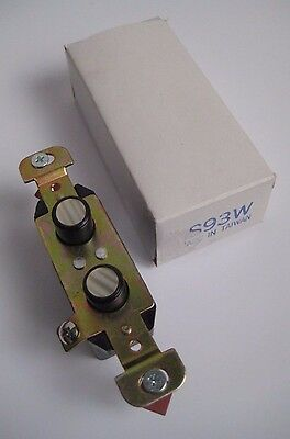 NEW Push Button Light Switch Mother of Pearl