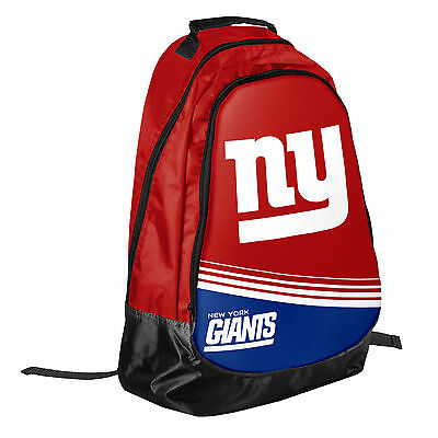 New York Giants Official NFL Backpack Core Bag by Forever Collectibles 055117