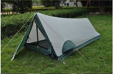 Camping Tent Survival Hiking Army Military Ultralight Two Person Trekking One