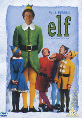 Elf DVD (2005) Will Ferrell, Favreau (DIR) cert PG Expertly Refurbished Product