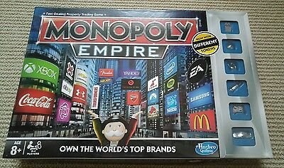 (USED) Monopoly Empires board game
