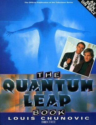 """Quantum Leap"" Book, Chunovic, Louis Paperback Book The Cheap Fast Free Post"