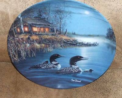 "Beautiful Loon Plate #1 of It's Series ""Night Songs"""
