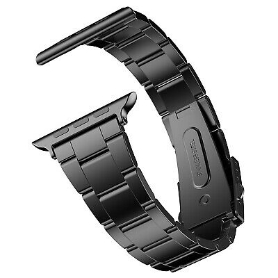 JETech Apple Watch Band Stainless Steel Strap for 38/42mm Serial 1 2 3