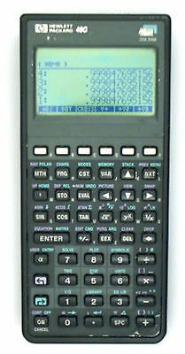 HP 48g Graphing Calculator.  32K memory. Very good condition w pouch & manual.