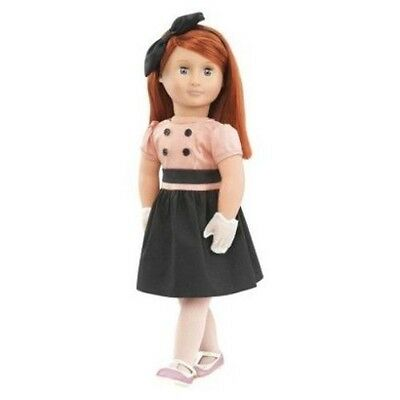 """Our Generation 18"""" Fashionable Doll Joy Red Hair Blue Eyes Dress New"""